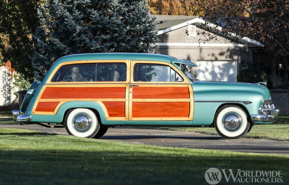 Mașini cu caroserie din lemn: șase exemplare foarte rare, scoase la iveală în America - Poza 25