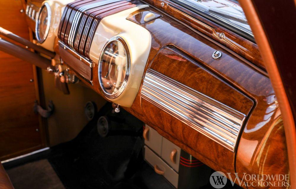 Mașini cu caroserie din lemn: șase exemplare foarte rare, scoase la iveală în America - Poza 15