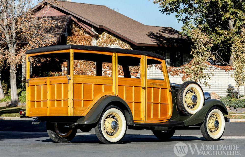 Mașini cu caroserie din lemn: șase exemplare foarte rare, scoase la iveală în America - Poza 39
