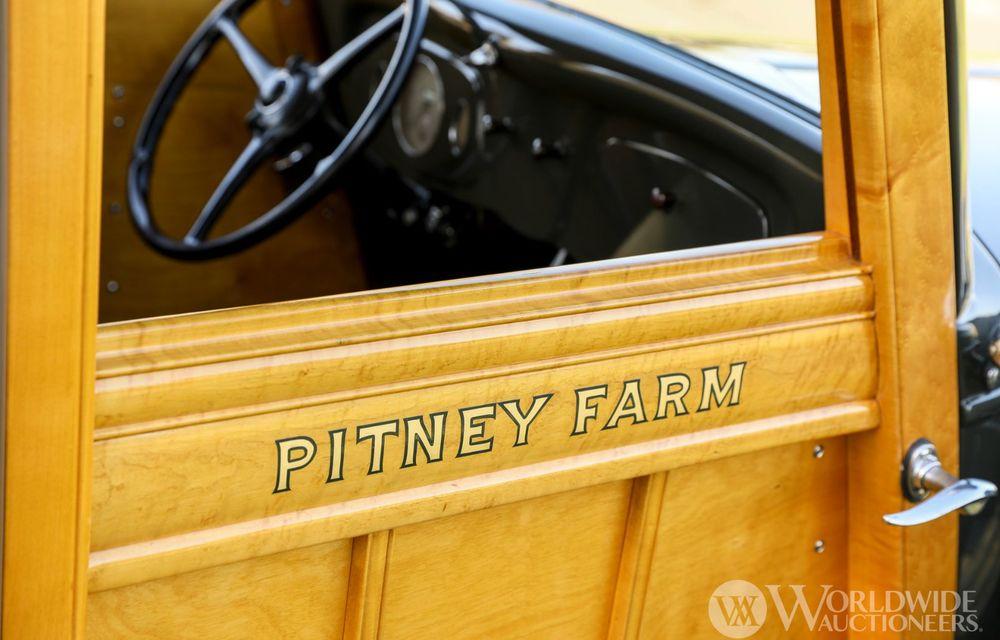 Mașini cu caroserie din lemn: șase exemplare foarte rare, scoase la iveală în America - Poza 45