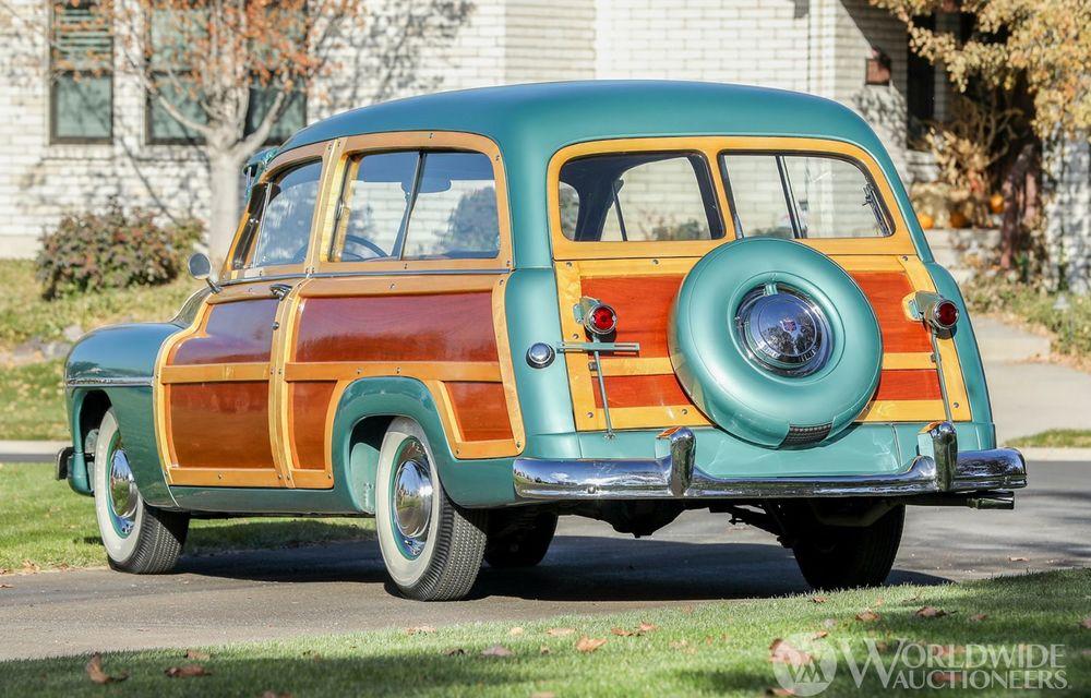 Mașini cu caroserie din lemn: șase exemplare foarte rare, scoase la iveală în America - Poza 26