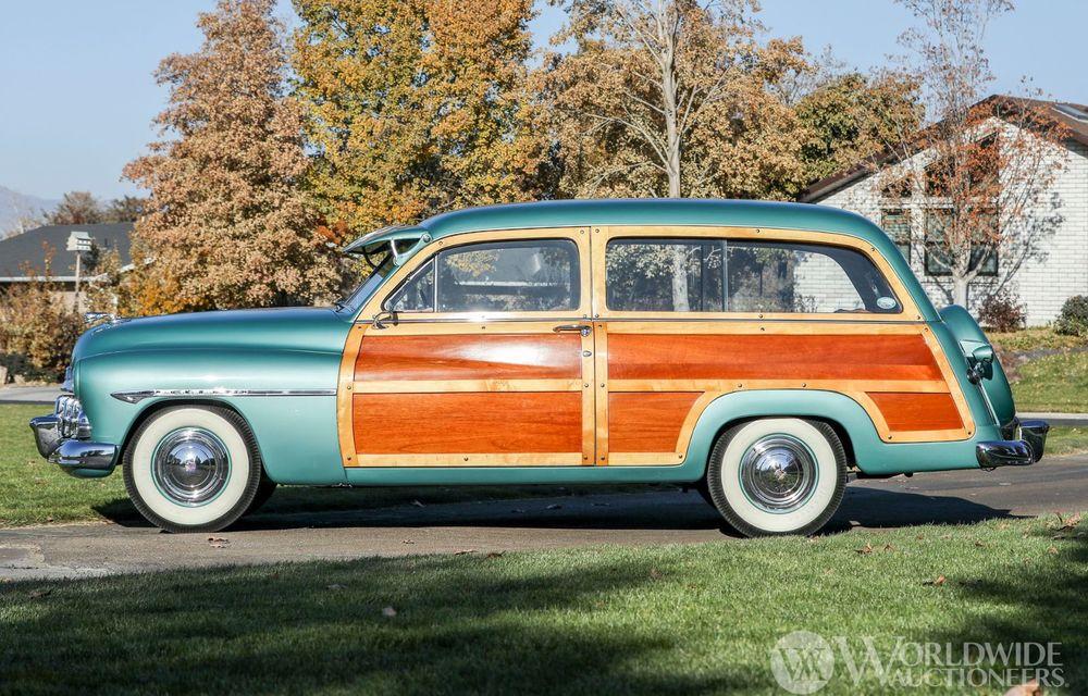 Mașini cu caroserie din lemn: șase exemplare foarte rare, scoase la iveală în America - Poza 27