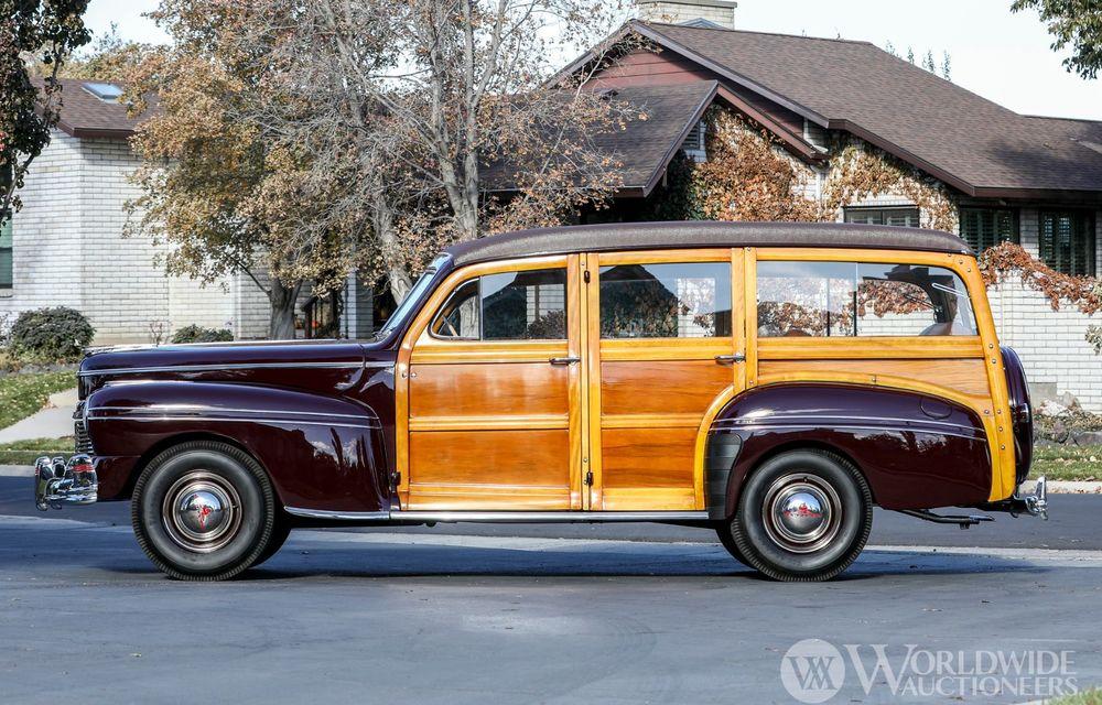 Mașini cu caroserie din lemn: șase exemplare foarte rare, scoase la iveală în America - Poza 11