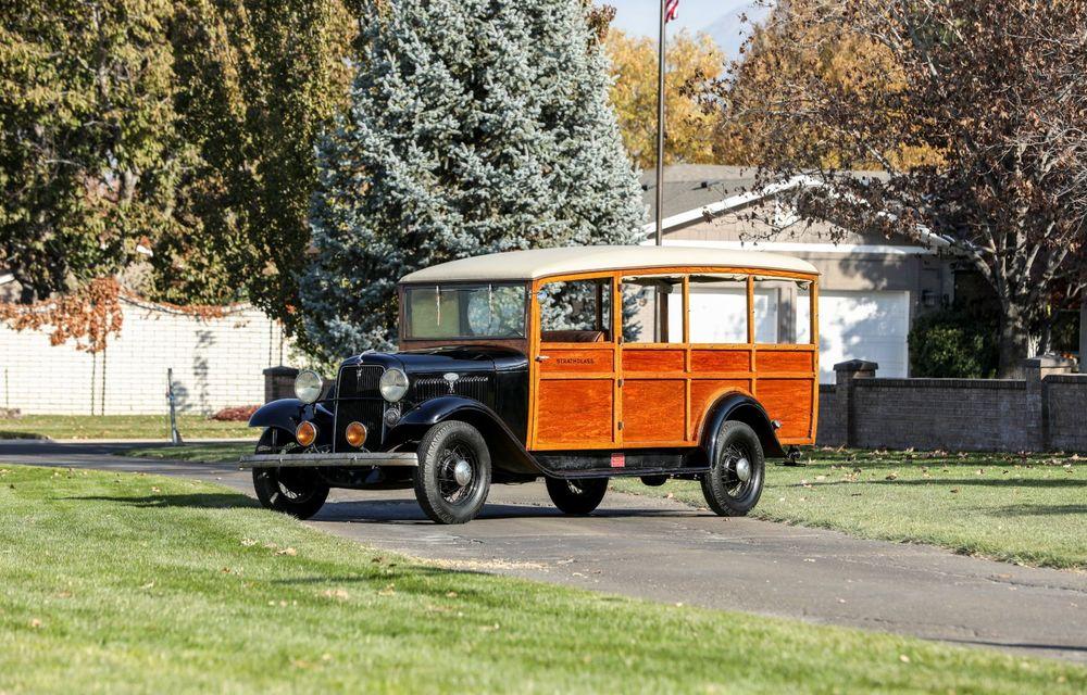 Mașini cu caroserie din lemn: șase exemplare foarte rare, scoase la iveală în America - Poza 1