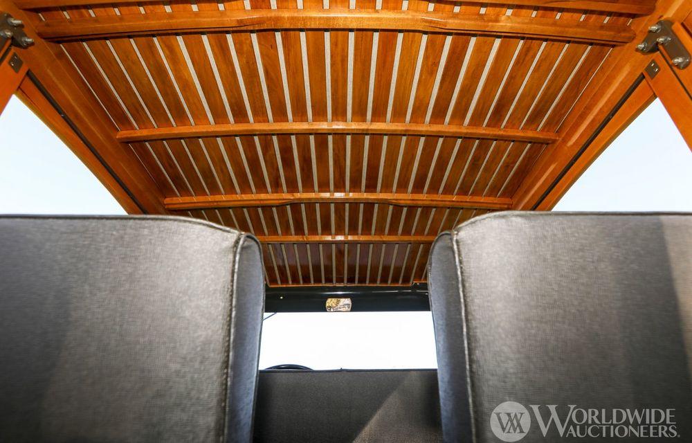 Mașini cu caroserie din lemn: șase exemplare foarte rare, scoase la iveală în America - Poza 44