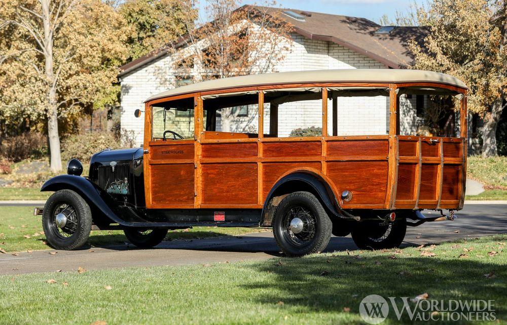 Mașini cu caroserie din lemn: șase exemplare foarte rare, scoase la iveală în America - Poza 19