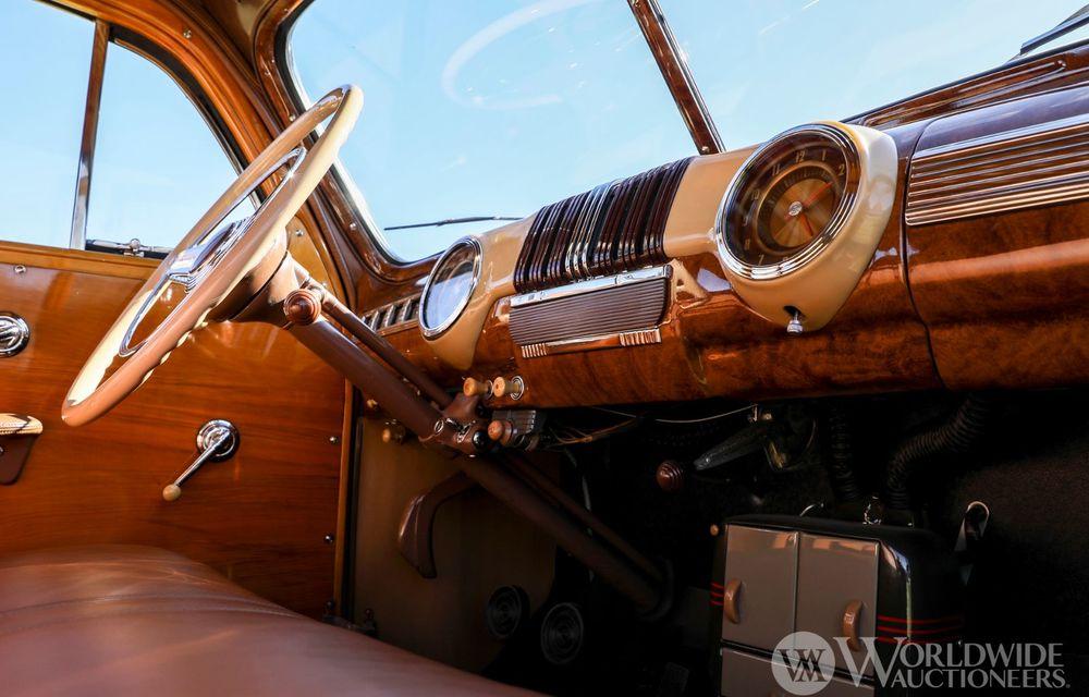 Mașini cu caroserie din lemn: șase exemplare foarte rare, scoase la iveală în America - Poza 17