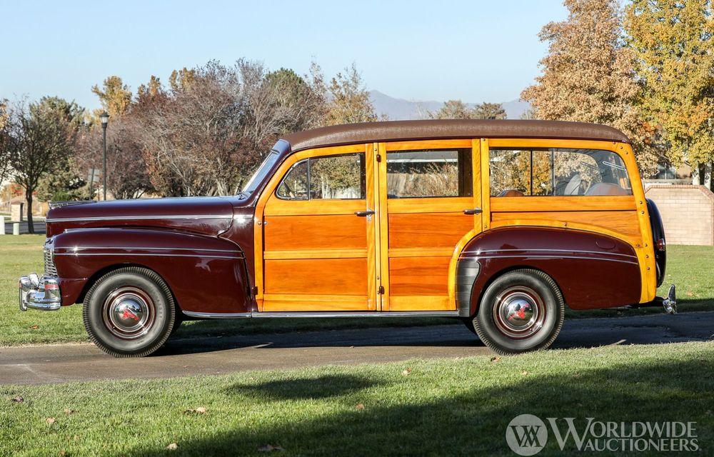 Mașini cu caroserie din lemn: șase exemplare foarte rare, scoase la iveală în America - Poza 13