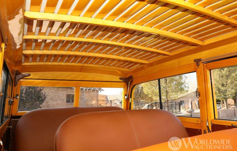 Mașini cu caroserie din lemn: șase exemplare foarte rare, scoase la iveală în America - Poza 8