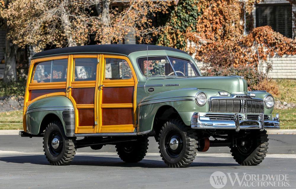Mașini cu caroserie din lemn: șase exemplare foarte rare, scoase la iveală în America - Poza 2