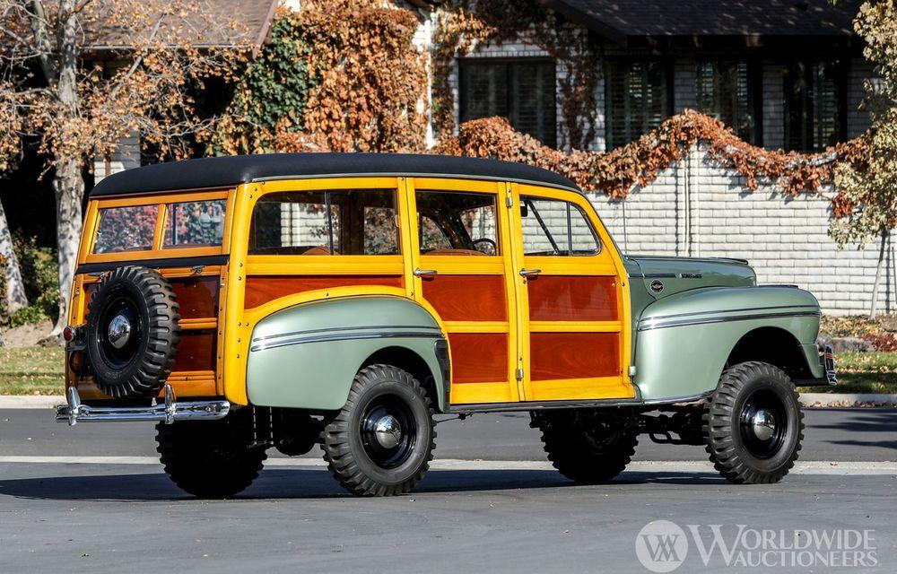 Mașini cu caroserie din lemn: șase exemplare foarte rare, scoase la iveală în America - Poza 4