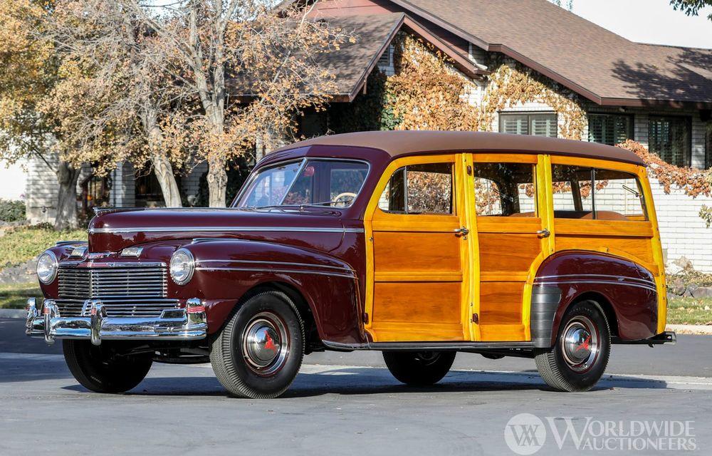 Mașini cu caroserie din lemn: șase exemplare foarte rare, scoase la iveală în America - Poza 10