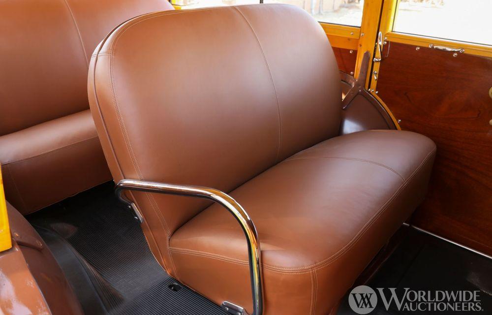 Mașini cu caroserie din lemn: șase exemplare foarte rare, scoase la iveală în America - Poza 7