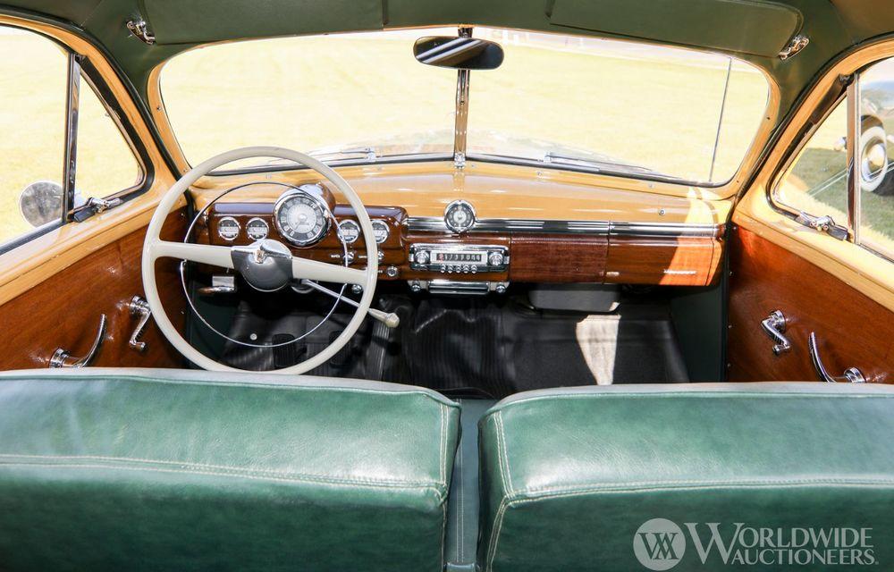 Mașini cu caroserie din lemn: șase exemplare foarte rare, scoase la iveală în America - Poza 34
