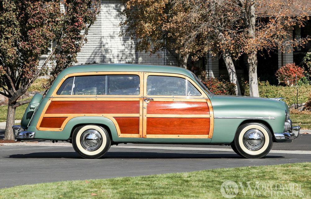 Mașini cu caroserie din lemn: șase exemplare foarte rare, scoase la iveală în America - Poza 32