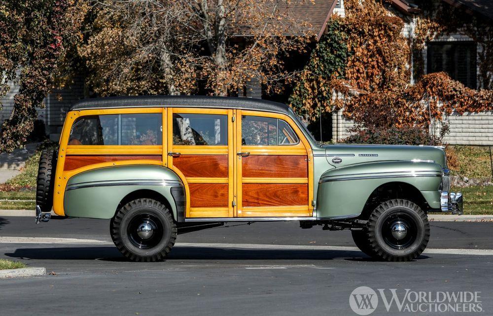 Mașini cu caroserie din lemn: șase exemplare foarte rare, scoase la iveală în America - Poza 3