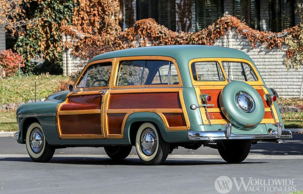 Mașini cu caroserie din lemn: șase exemplare foarte rare, scoase la iveală în America - Poza 33