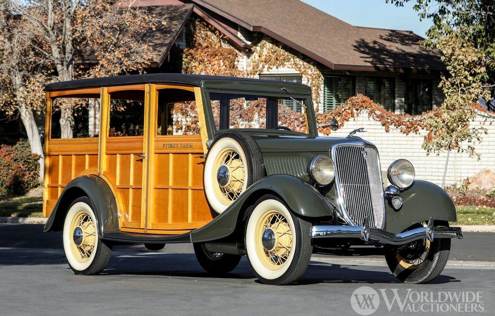 Mașini cu caroserie din lemn: șase exemplare foarte rare, scoase la iveală în America - Poza 38