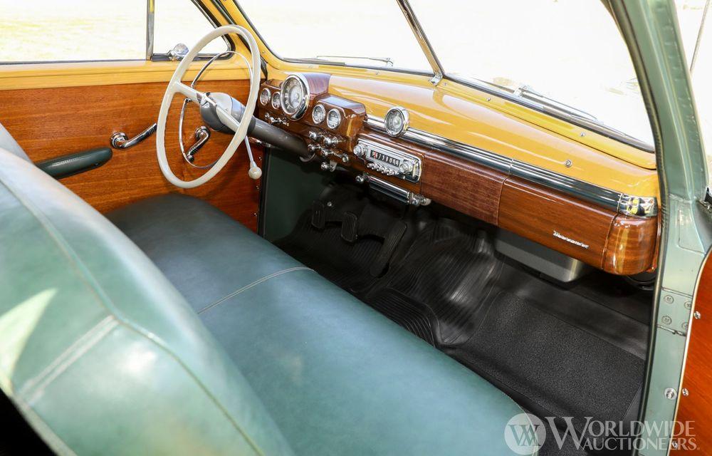 Mașini cu caroserie din lemn: șase exemplare foarte rare, scoase la iveală în America - Poza 35