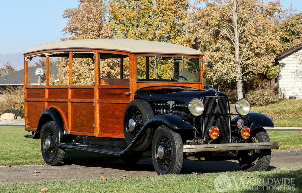 Mașini cu caroserie din lemn: șase exemplare foarte rare, scoase la iveală în America - Poza 18
