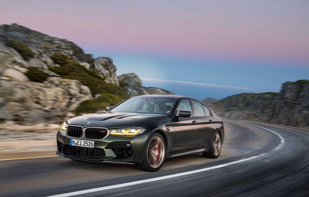 OFICIAL: BMW lansează noul M5 CS alături de cel mai puternic motor al său din toate timpurile - Poza 125