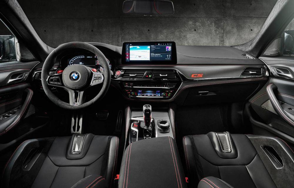 OFICIAL: BMW lansează noul M5 CS alături de cel mai puternic motor al său din toate timpurile - Poza 14
