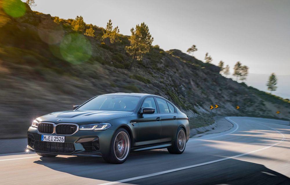 OFICIAL: BMW lansează noul M5 CS alături de cel mai puternic motor al său din toate timpurile - Poza 117