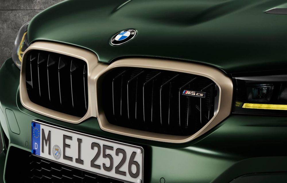 OFICIAL: BMW lansează noul M5 CS alături de cel mai puternic motor al său din toate timpurile - Poza 22