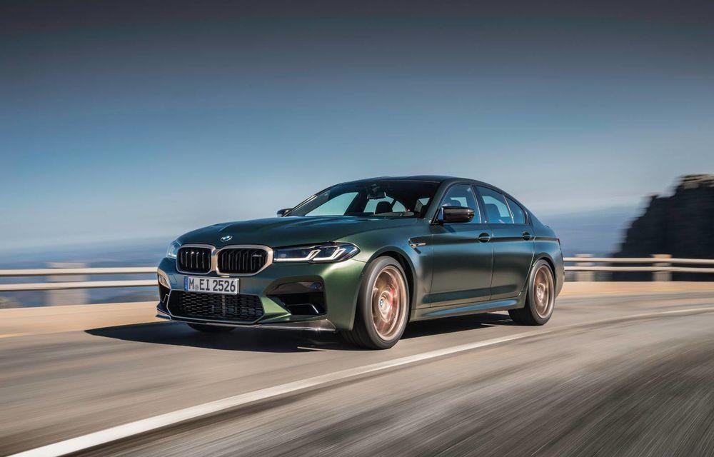 OFICIAL: BMW lansează noul M5 CS alături de cel mai puternic motor al său din toate timpurile - Poza 146