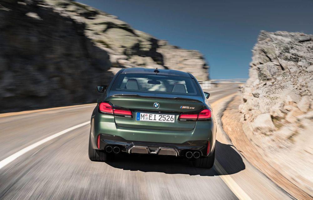 OFICIAL: BMW lansează noul M5 CS alături de cel mai puternic motor al său din toate timpurile - Poza 141