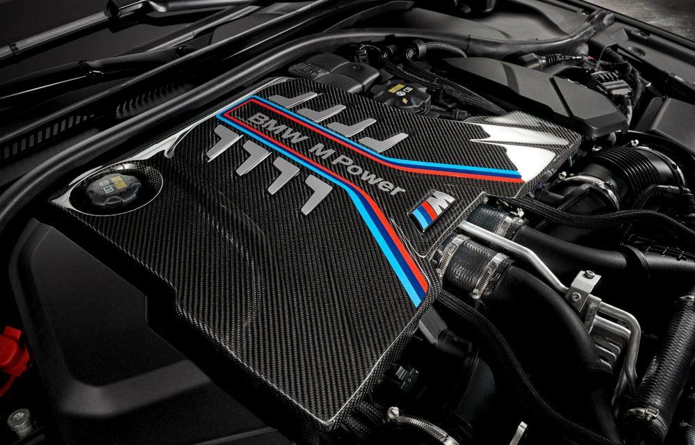 OFICIAL: BMW lansează noul M5 CS alături de cel mai puternic motor al său din toate timpurile - Poza 2