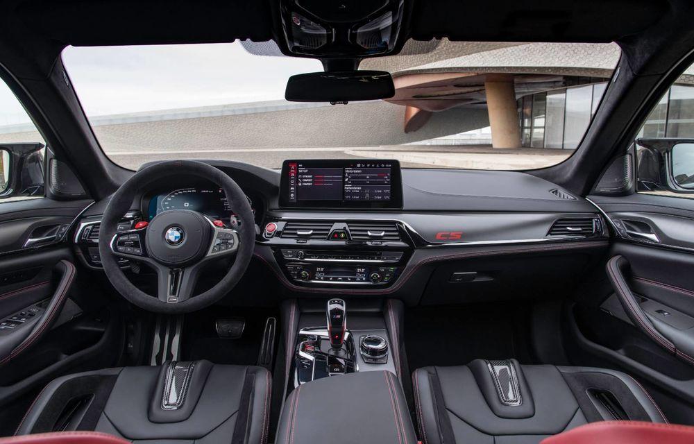 OFICIAL: BMW lansează noul M5 CS alături de cel mai puternic motor al său din toate timpurile - Poza 47