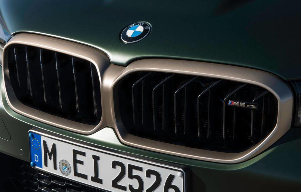 OFICIAL: BMW lansează noul M5 CS alături de cel mai puternic motor al său din toate timpurile - Poza 67
