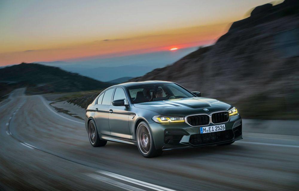 OFICIAL: BMW lansează noul M5 CS alături de cel mai puternic motor al său din toate timpurile - Poza 132
