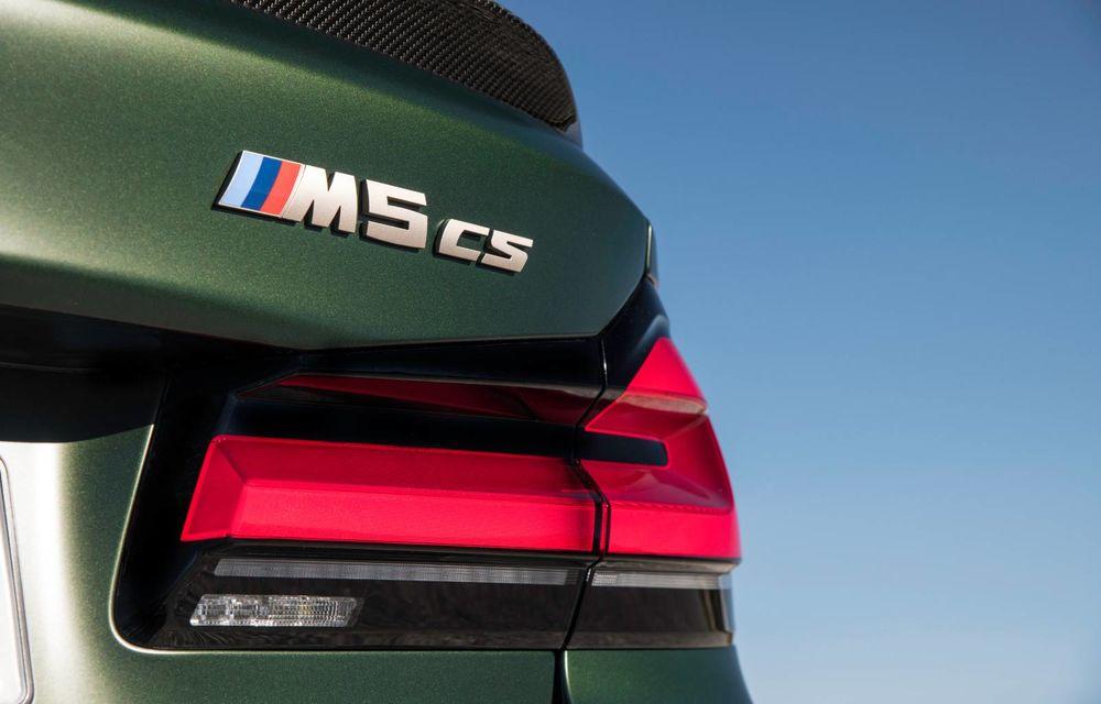 OFICIAL: BMW lansează noul M5 CS alături de cel mai puternic motor al său din toate timpurile - Poza 55