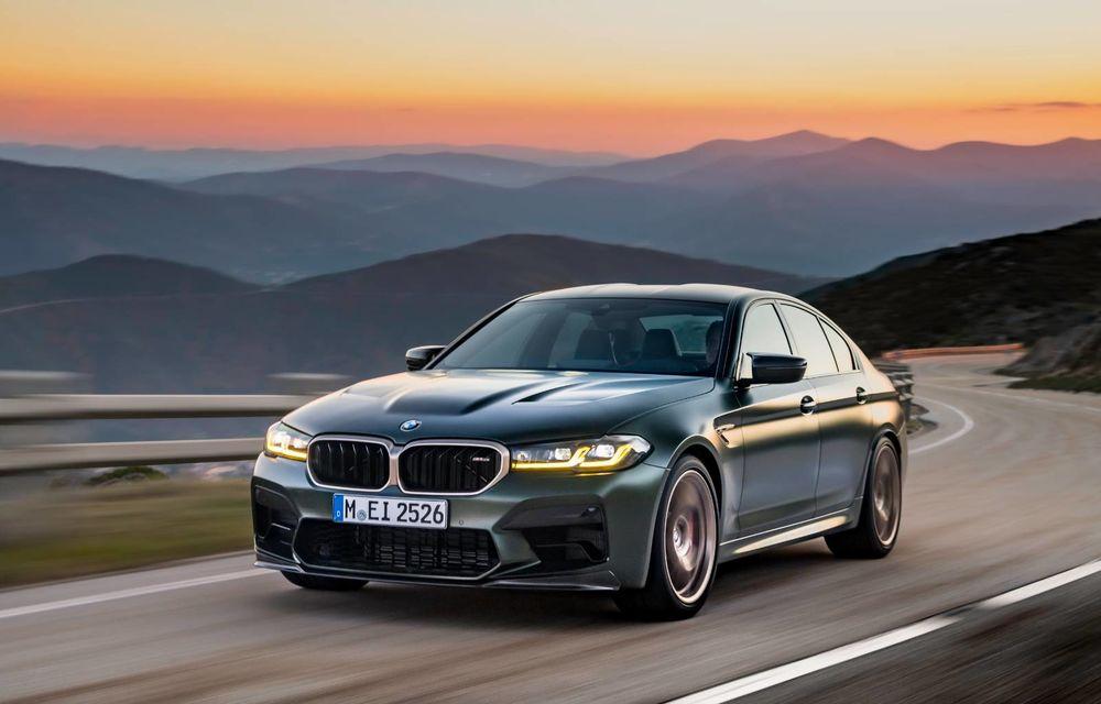 OFICIAL: BMW lansează noul M5 CS alături de cel mai puternic motor al său din toate timpurile - Poza 129