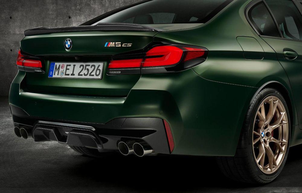 OFICIAL: BMW lansează noul M5 CS alături de cel mai puternic motor al său din toate timpurile - Poza 17