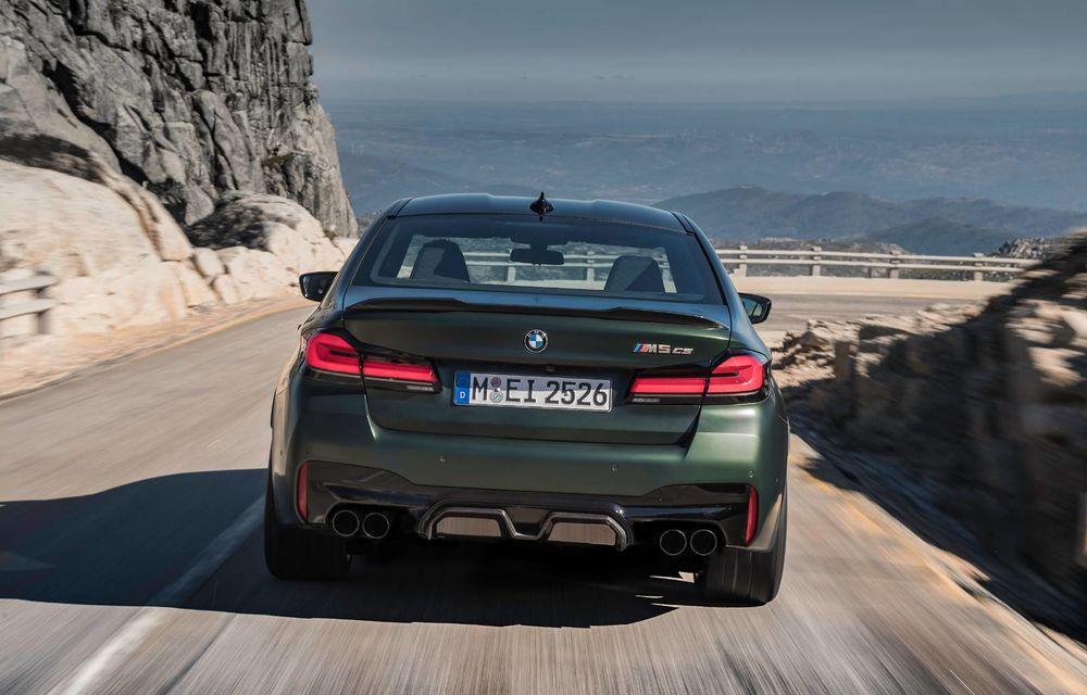 OFICIAL: BMW lansează noul M5 CS alături de cel mai puternic motor al său din toate timpurile - Poza 143