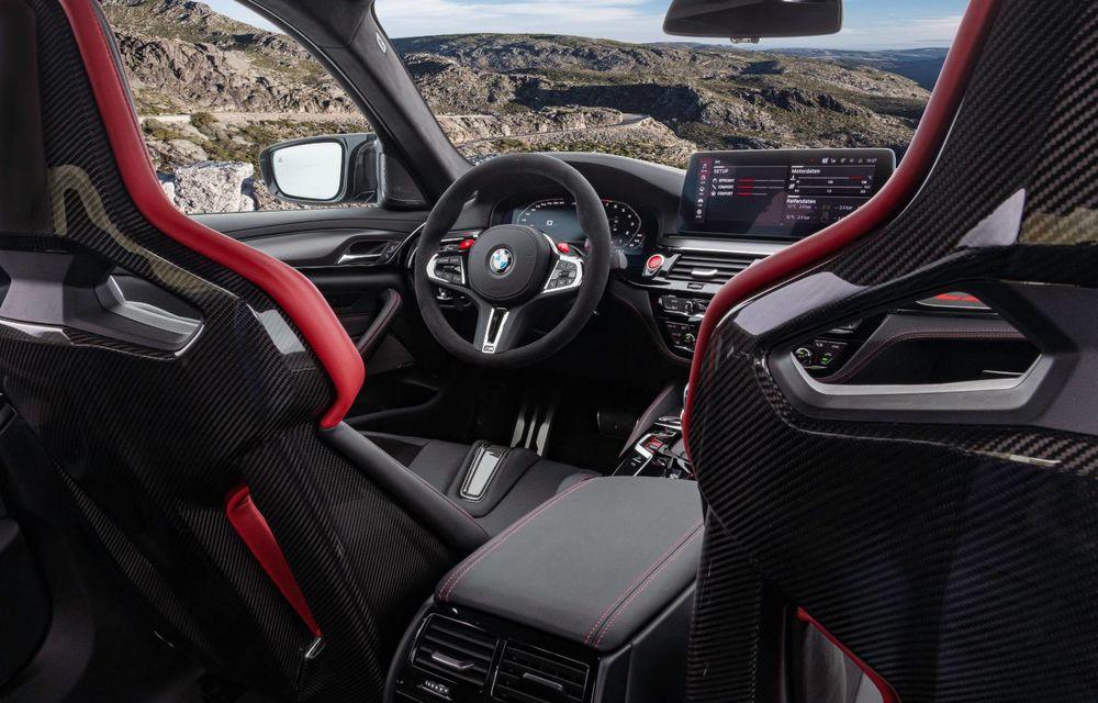 OFICIAL: BMW lansează noul M5 CS alături de cel mai puternic motor al său din toate timpurile - Poza 48