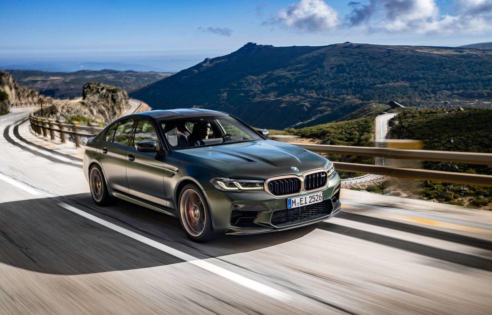 OFICIAL: BMW lansează noul M5 CS alături de cel mai puternic motor al său din toate timpurile - Poza 110