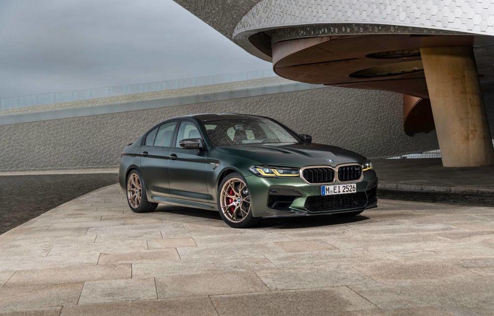 OFICIAL: BMW lansează noul M5 CS alături de cel mai puternic motor al său din toate timpurile - Poza 86