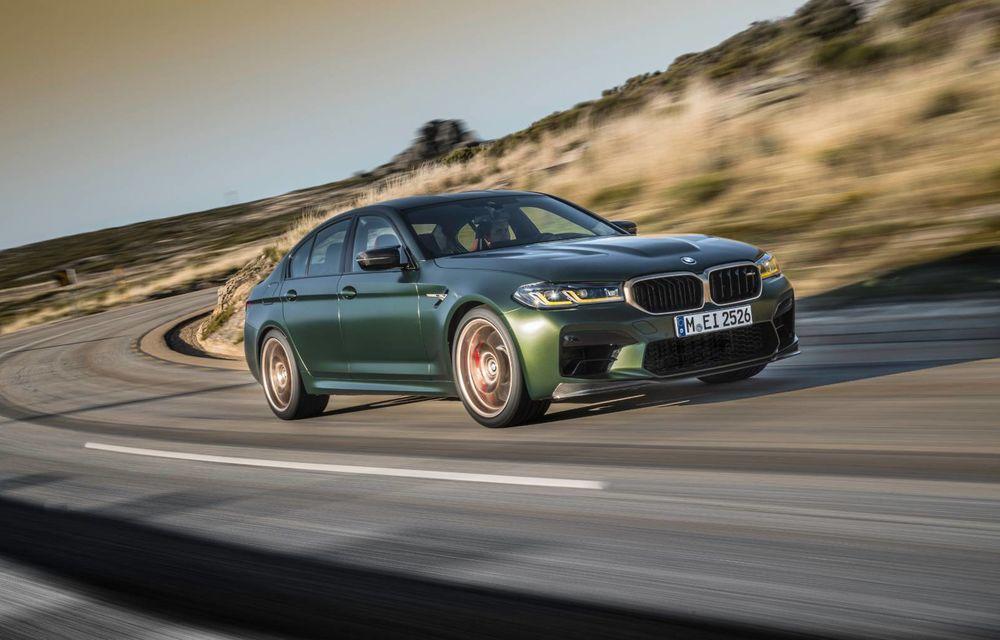 OFICIAL: BMW lansează noul M5 CS alături de cel mai puternic motor al său din toate timpurile - Poza 139