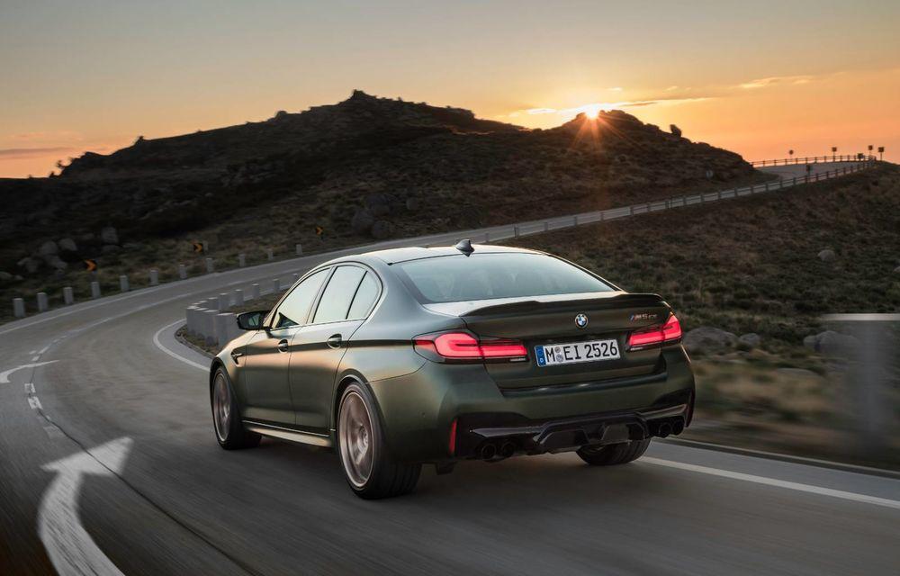 OFICIAL: BMW lansează noul M5 CS alături de cel mai puternic motor al său din toate timpurile - Poza 123