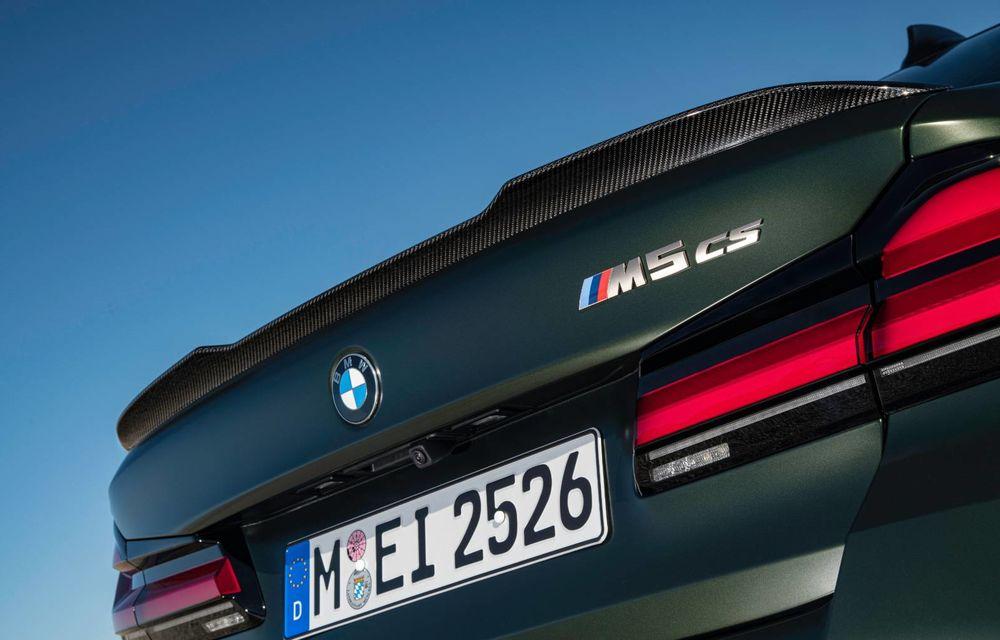 OFICIAL: BMW lansează noul M5 CS alături de cel mai puternic motor al său din toate timpurile - Poza 56