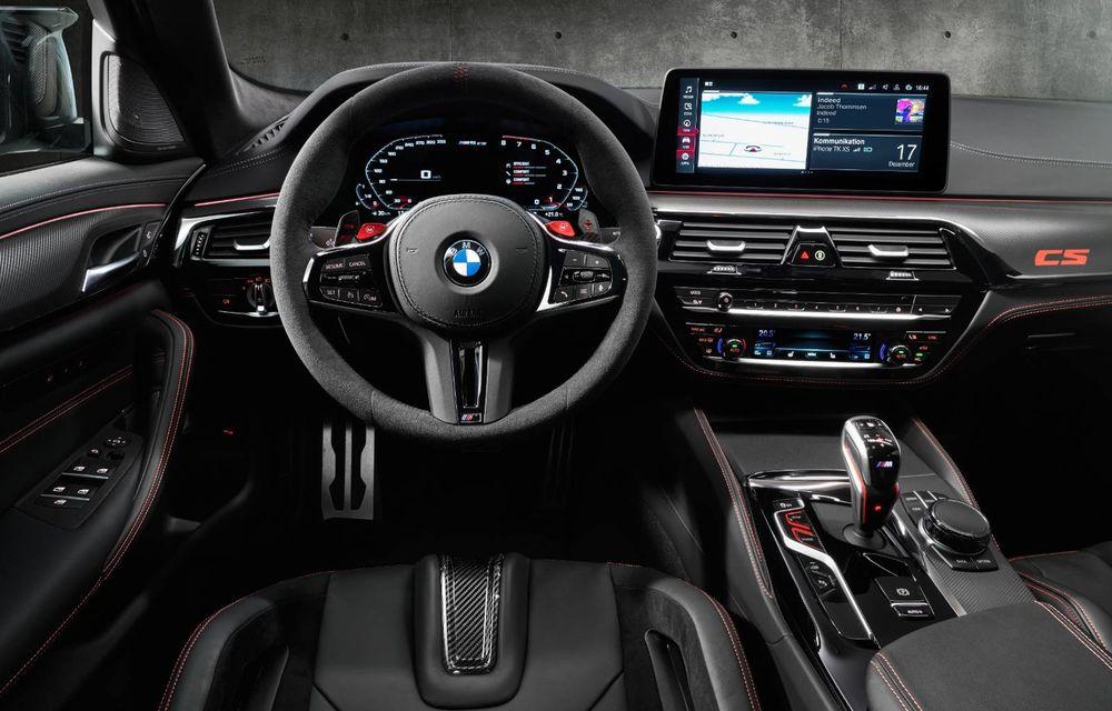 OFICIAL: BMW lansează noul M5 CS alături de cel mai puternic motor al său din toate timpurile - Poza 13