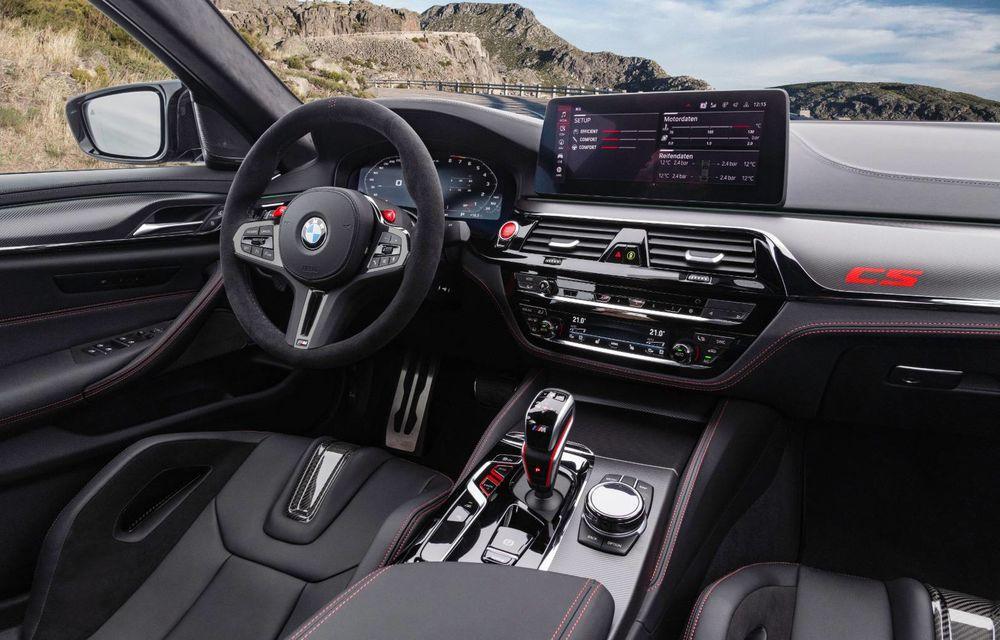 OFICIAL: BMW lansează noul M5 CS alături de cel mai puternic motor al său din toate timpurile - Poza 50