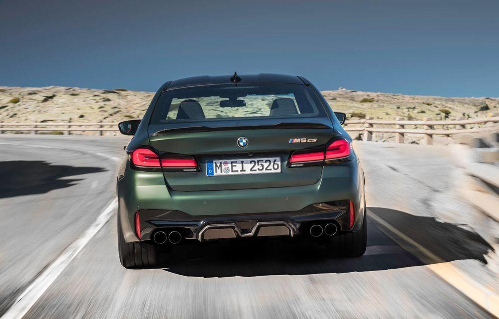 OFICIAL: BMW lansează noul M5 CS alături de cel mai puternic motor al său din toate timpurile - Poza 108