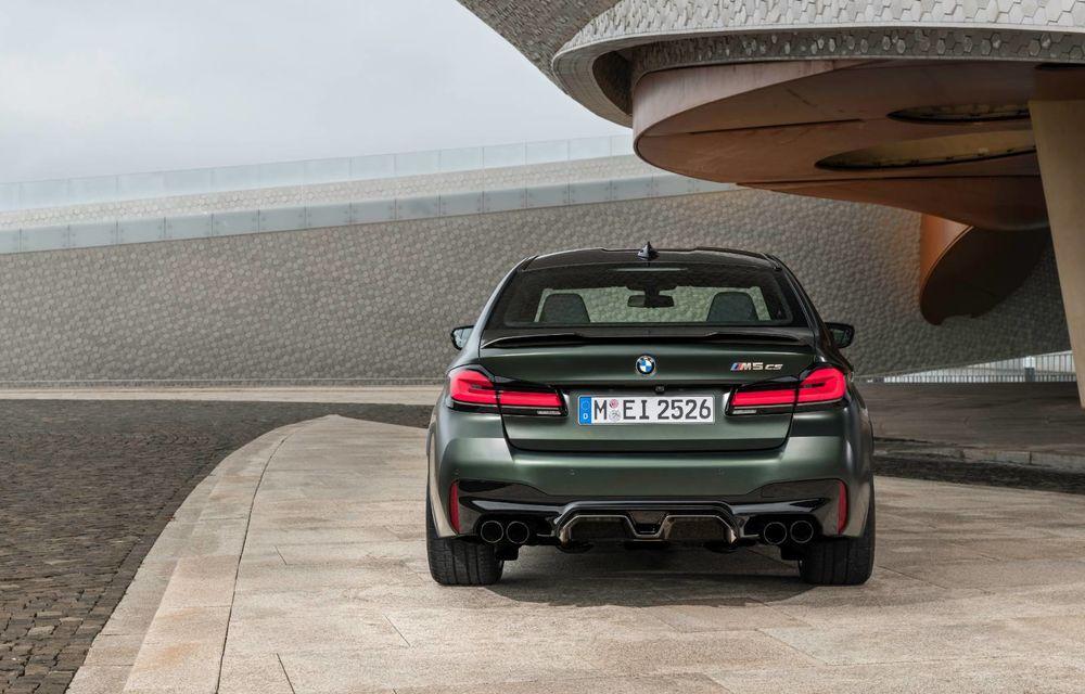 OFICIAL: BMW lansează noul M5 CS alături de cel mai puternic motor al său din toate timpurile - Poza 68