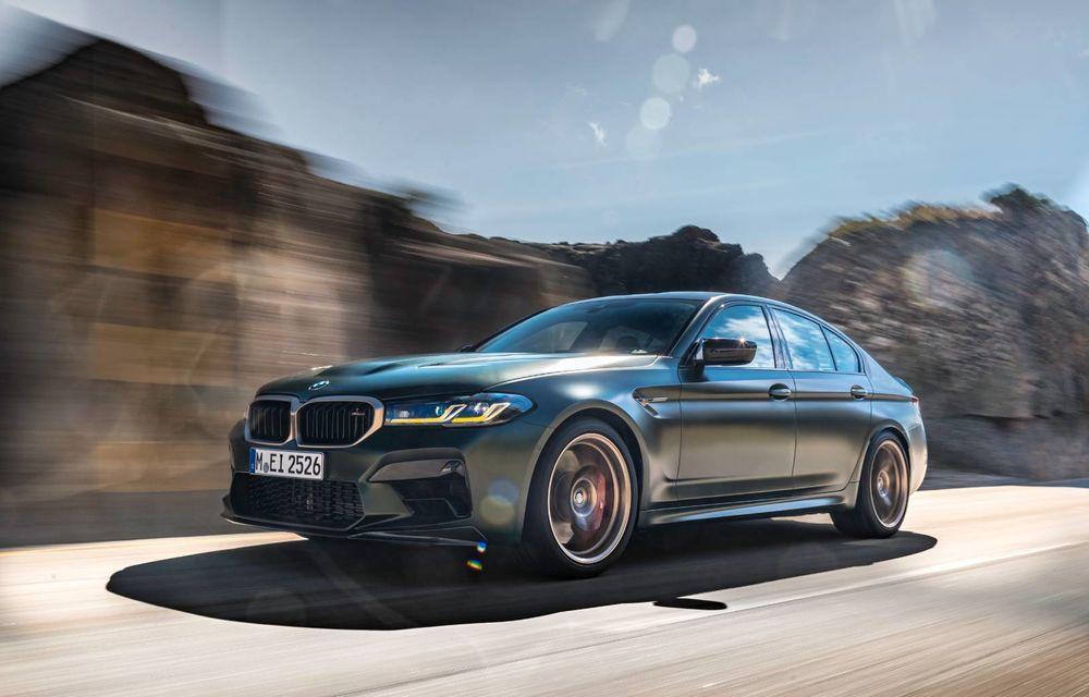 OFICIAL: BMW lansează noul M5 CS alături de cel mai puternic motor al său din toate timpurile - Poza 148