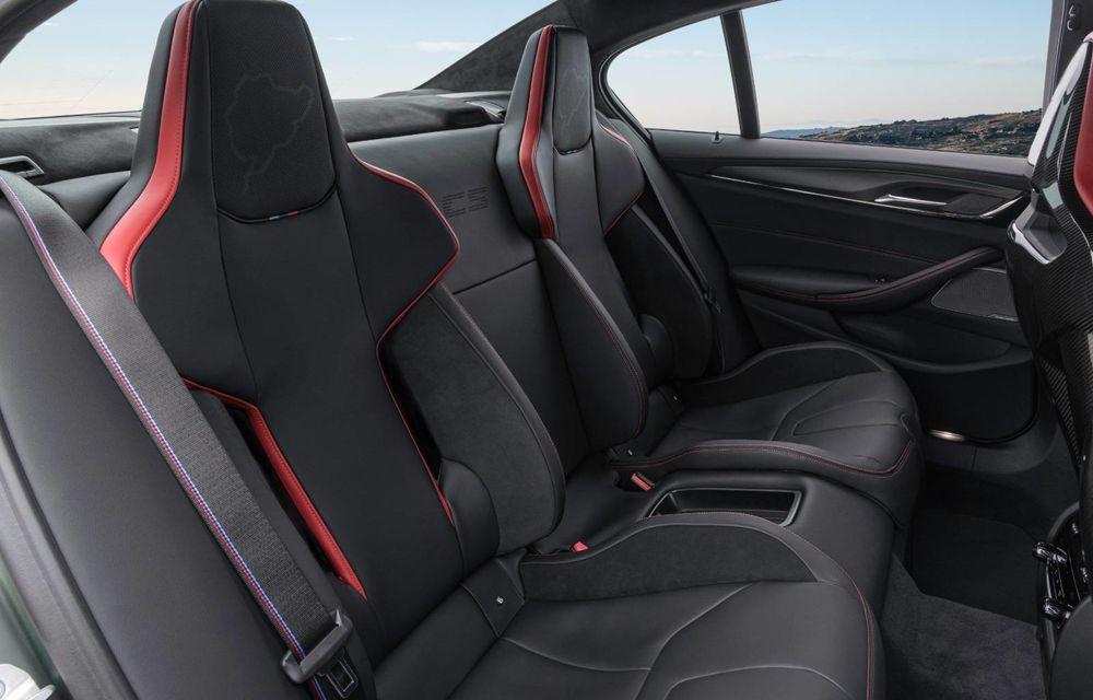 OFICIAL: BMW lansează noul M5 CS alături de cel mai puternic motor al său din toate timpurile - Poza 43